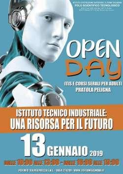 Pratola Peligna, Open Day ITI il 13 gennaio