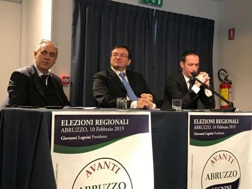 """Le """"pillole"""" di Avanti Abruzzo per guarire la Regione (con Legnini)"""