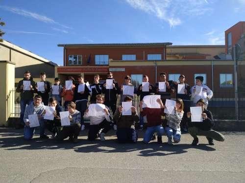 Fabro, anche gli studenti Ipaa supportano il popolo sardo
