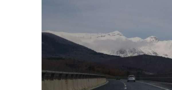 A24, stop tir L'Aquila Est-Colledara