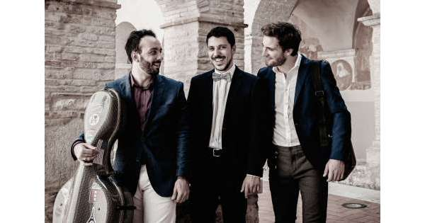 Hopper Piano Trio in concerto all'Aquila