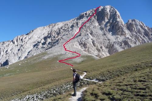 Gran Sasso, via direttissima: famiglia in difficoltà recuperata dal 118 e dal soccorso alpino(VIDEO)