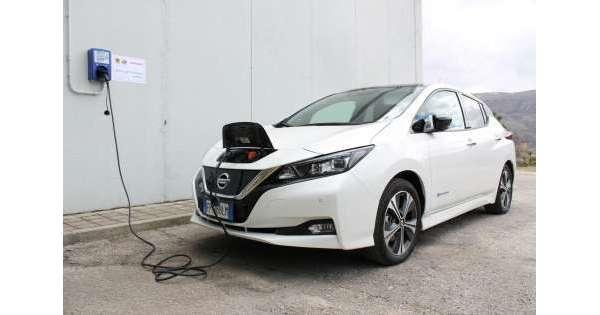 Mobilità elettrica, intesa Nissan-UnivAq