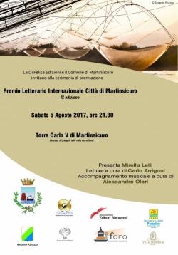 A Martinsicuro la IX edizione del 'Premio Letterario'