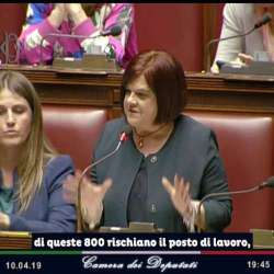 L'Aquila, Pezzopane alla Camera: