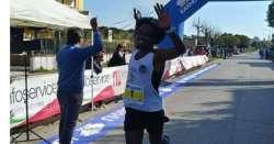 ANSA 6 05 2019 :                        Adugna campione regionale corsa strada