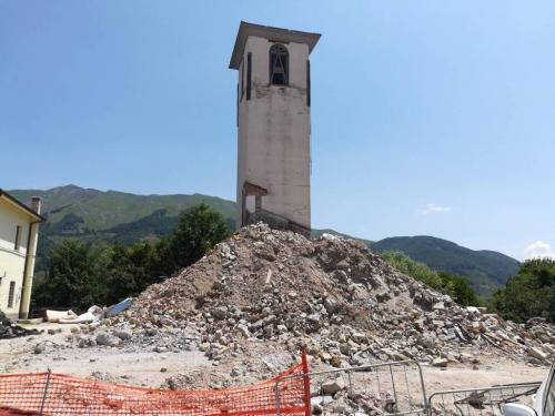 Terremoto, presto moduli abitativi a Campotosto. Entro novembre rimosse 100 mila tonnellate macerie