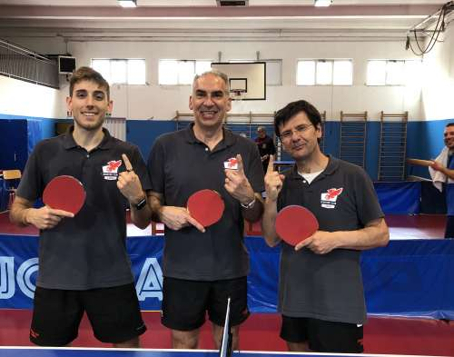 Ping Pong, Sporting Club Libertas L'aquila vince finale playoff e vola in D1