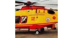 Elicottero atterra in A24 per soccorso