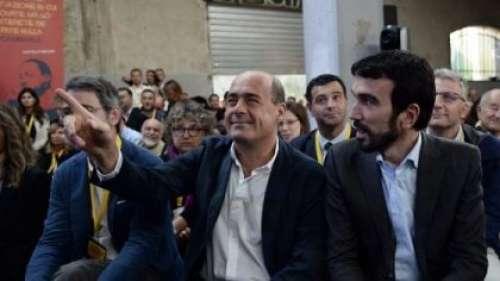 """Verso europee e comunali, Zingaretti a Pescara: """"Italiani non sono polli d'allevamento"""""""