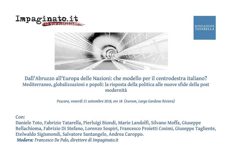 Congresso Centro Destra - Aurum, Pescara 18 Settembre 2018