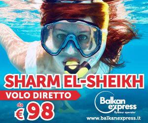 Offerta Sharm Balkan Express