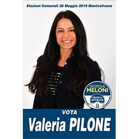 VALERIA PILONE - Elezioni Europee 2019
